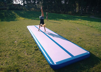 EN71 Inflatable Air Track 20'X3.3'X4''(6*1*0.1m) Or Custom Made Gymnastics Equipment Tumble Track